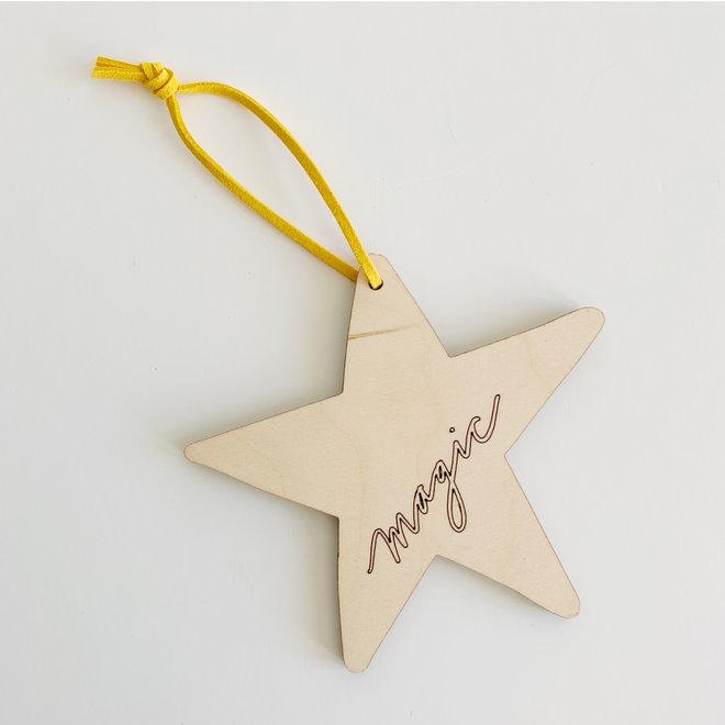 D&Co. Wooden Ornament