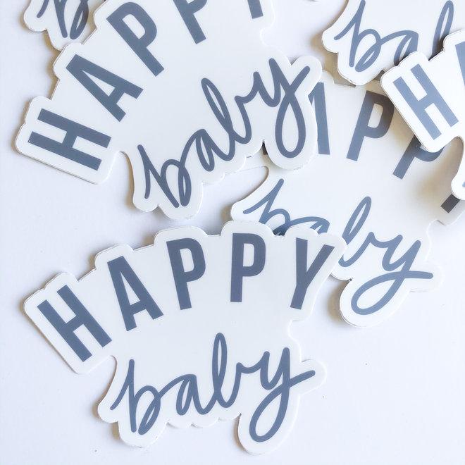 Happy Baby Sticker
