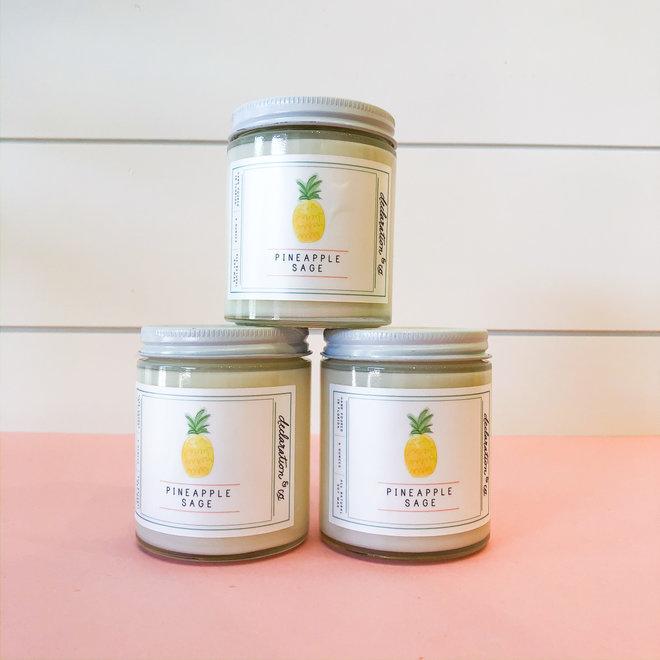 Pineapple Sage Mini Candle
