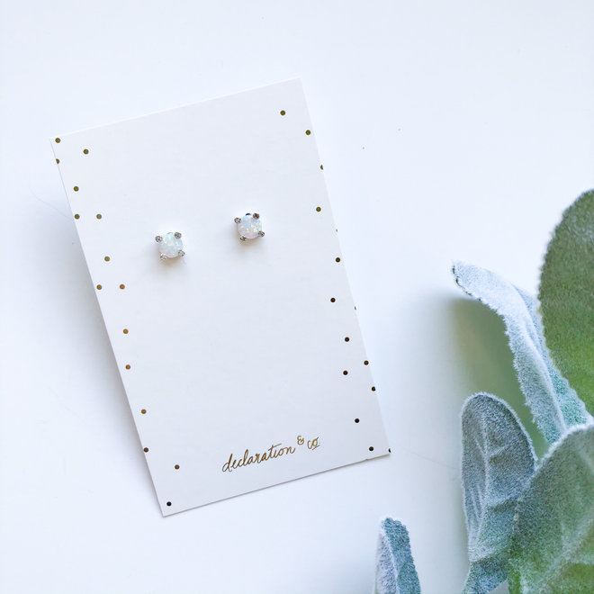 One in a Million Silver Studs