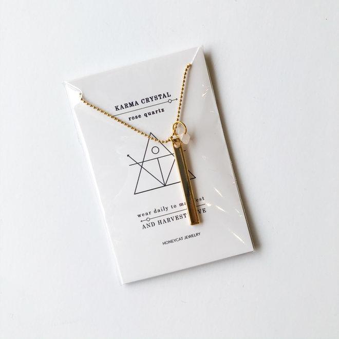 Karma Crystal Necklace