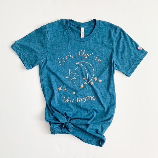 To The Moon Graphic Tee