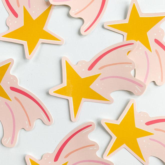 D & Co. Shooting Star Sticker