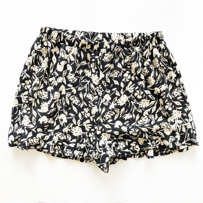 One on One Printed Shorts