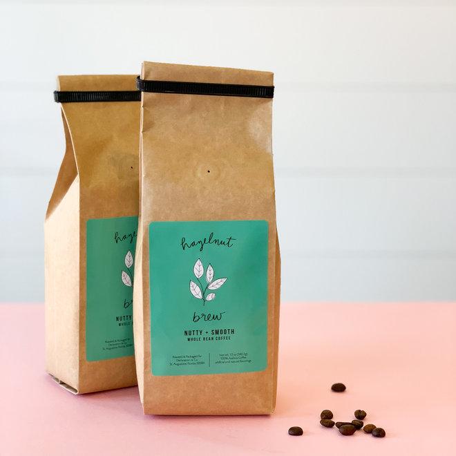 Hazelnut Brew Coffee Whole Bean