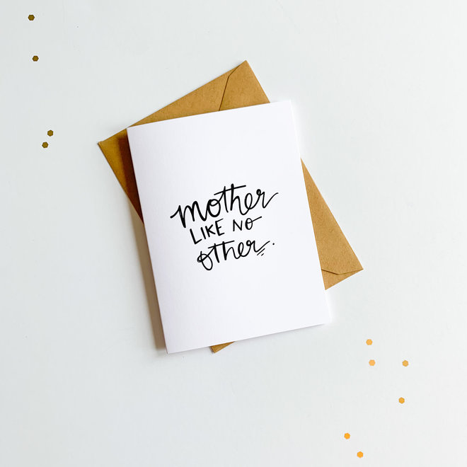 D & Co Classic Greeting Card- Mother Like No Other