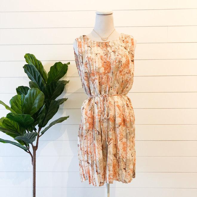 Fashion Sense Pleated Dress