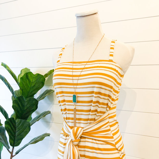 Hello Lover Striped Dress