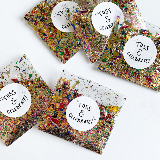 D & Co Confetti Bag
