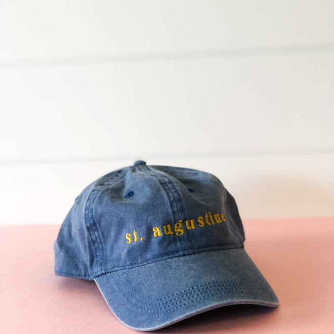 D & Co St Augustine Blue Hat