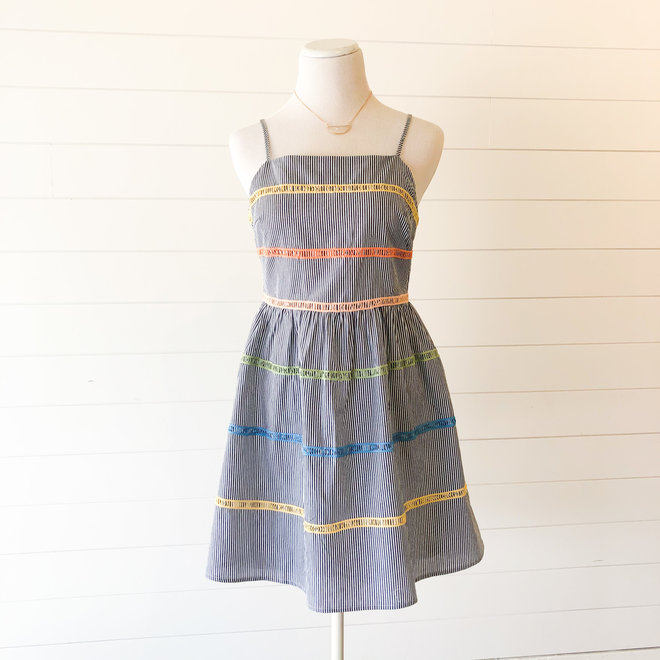 Olive Georgia Dress