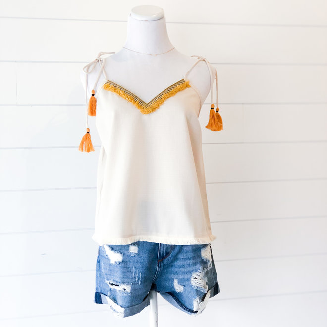 Forget Me Knot Strappy Top