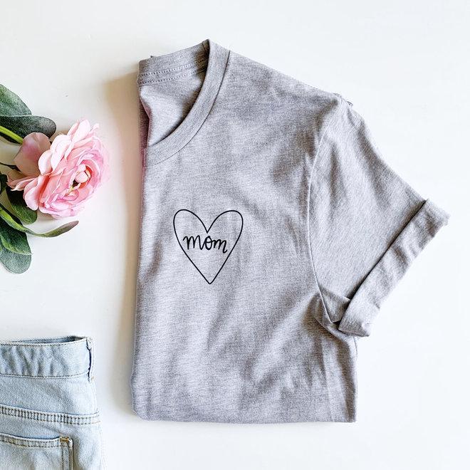 Mom Heart Graphic Tee