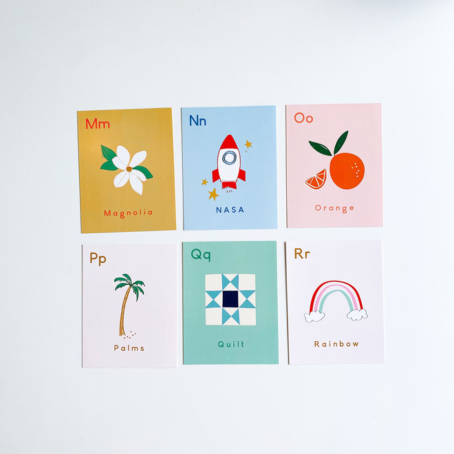 Florida Alphabet Flash Cards