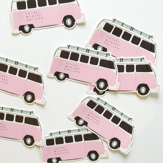 D & Co Van Sticker