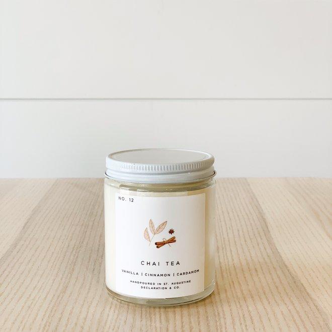 Chai Tea 6 oz Candle