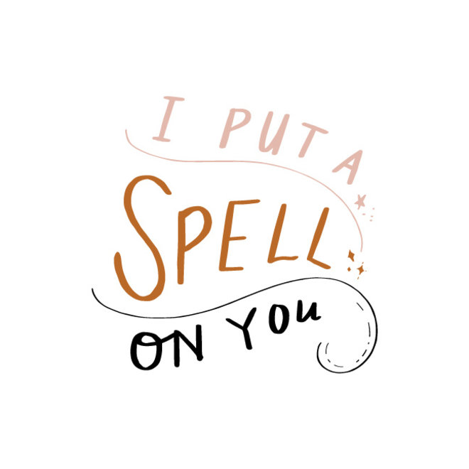 I Put a Spell on You Cream Graphic Tee