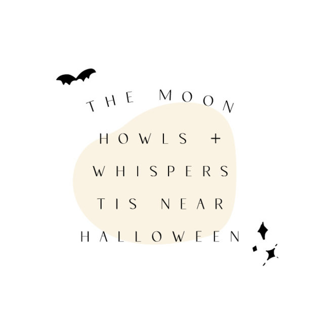 The Moon Howls Adult Graphic Tee