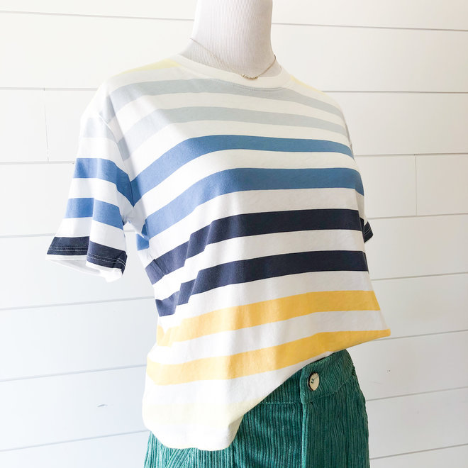 Over the Rainbow Striped Top