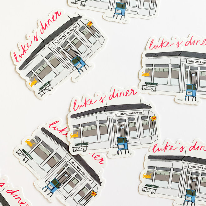 Luke's Diner Sticker