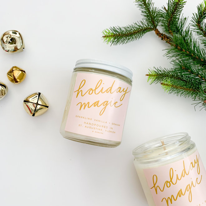 Holiday Magic 8 oz Candle