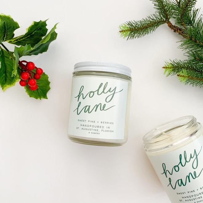 Holly Lane 8 oz Candle