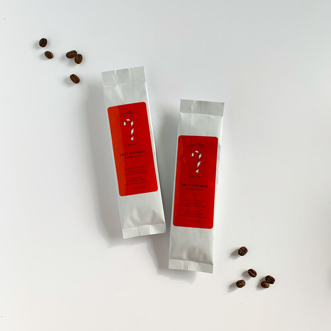 D & Co. Mini Coffee Candy Cane