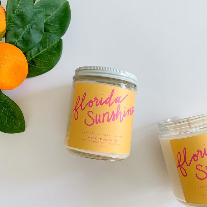 FL Sunshine 8 oz Candle
