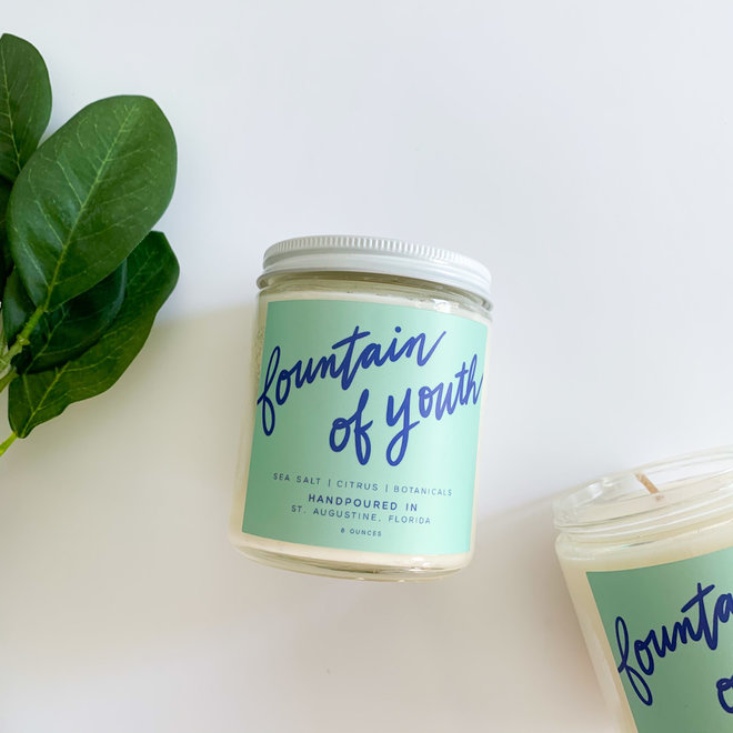Fountain of Youth 8 oz Candle