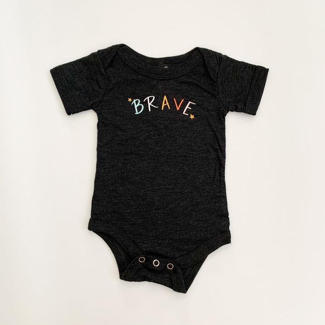 Brave Onesie 3-6 Months