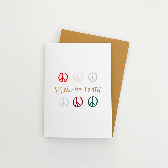 D & Co Classic Greeting Card- Peace on Earth