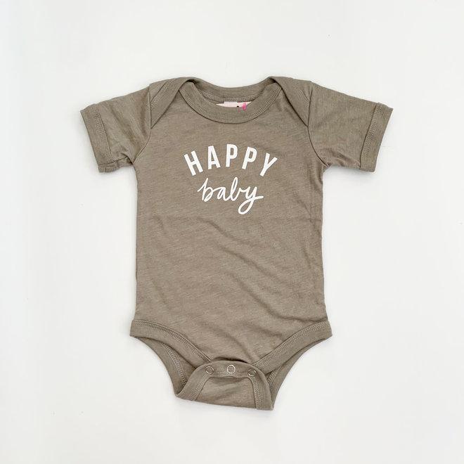 Happy Baby Onesie 3-6 mo.
