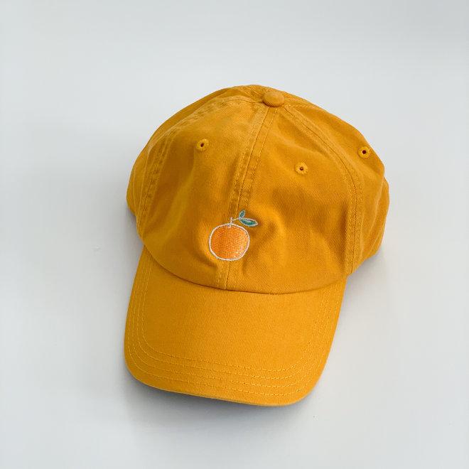 Mustard Hat Illustrated Orange