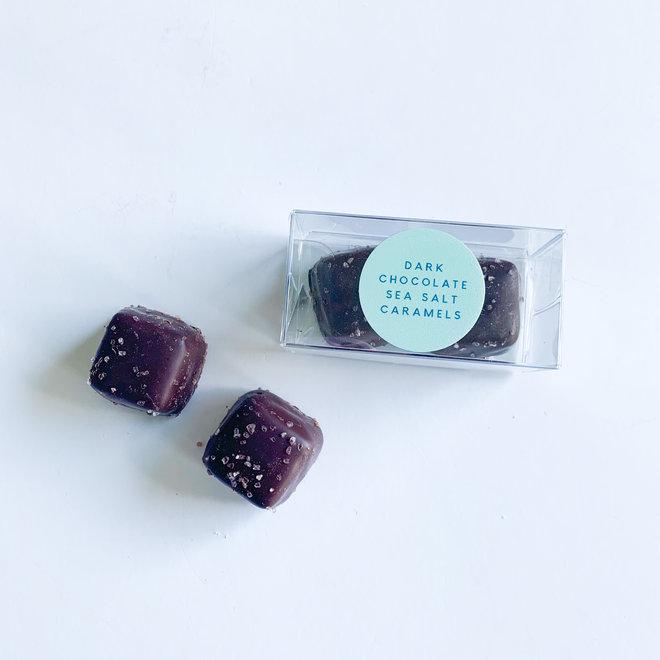 D & Co Dark Chocolate Sea Salt Caramels