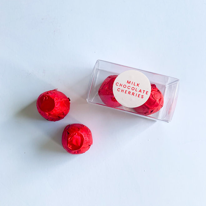 D&Co Milk Chocolate Covered Cherries