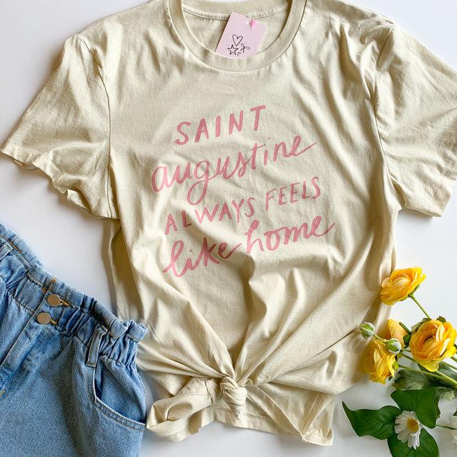 Saint Augustine Always Feels Like Home Tee