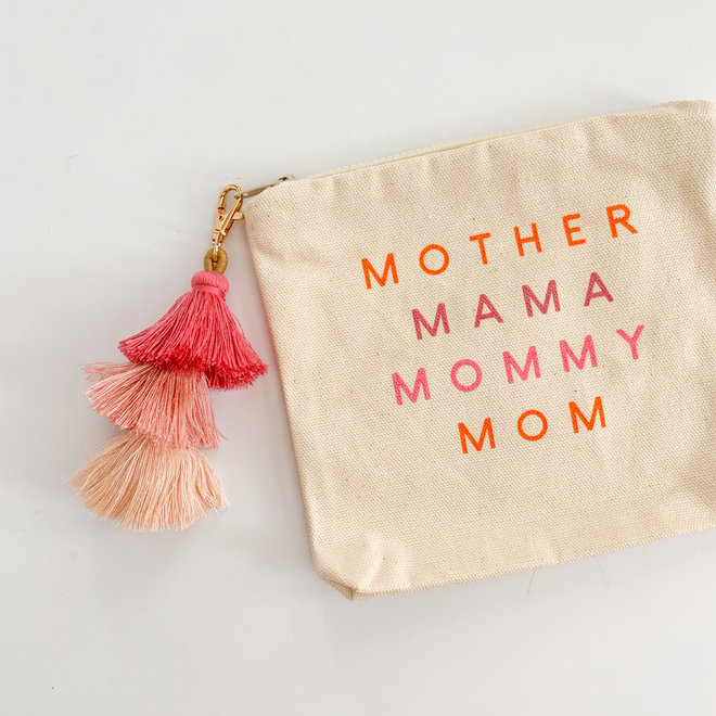 Mother Mama Mommy Pouch