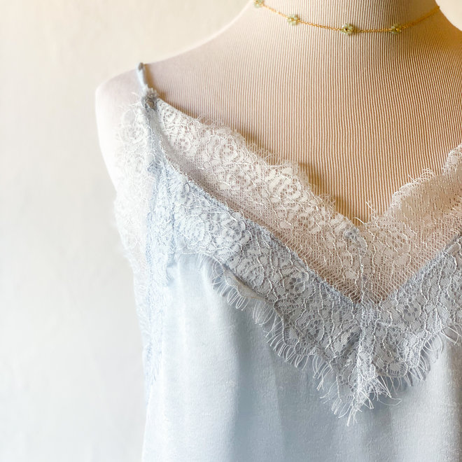 Ice Cold Lace Tank Top