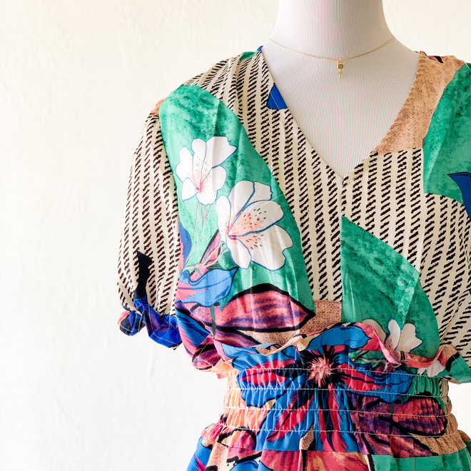 Modern Paradise Dress