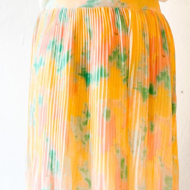 Watercolor Skies Skirt