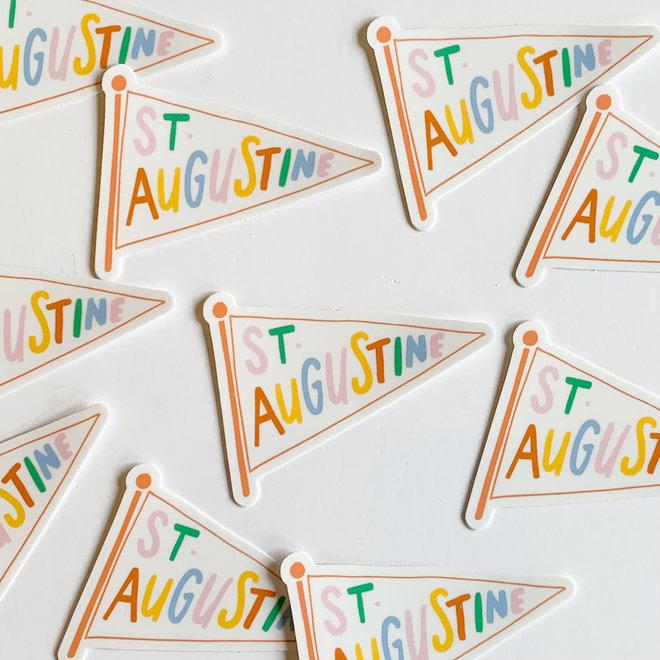 Rainbow Pennant Sticker