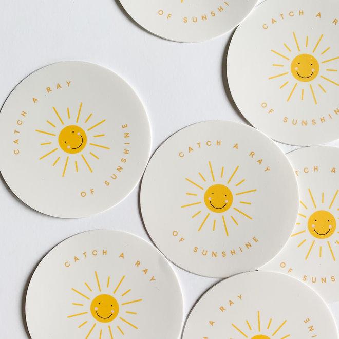 Catch a Ray of Sunshine Sticker