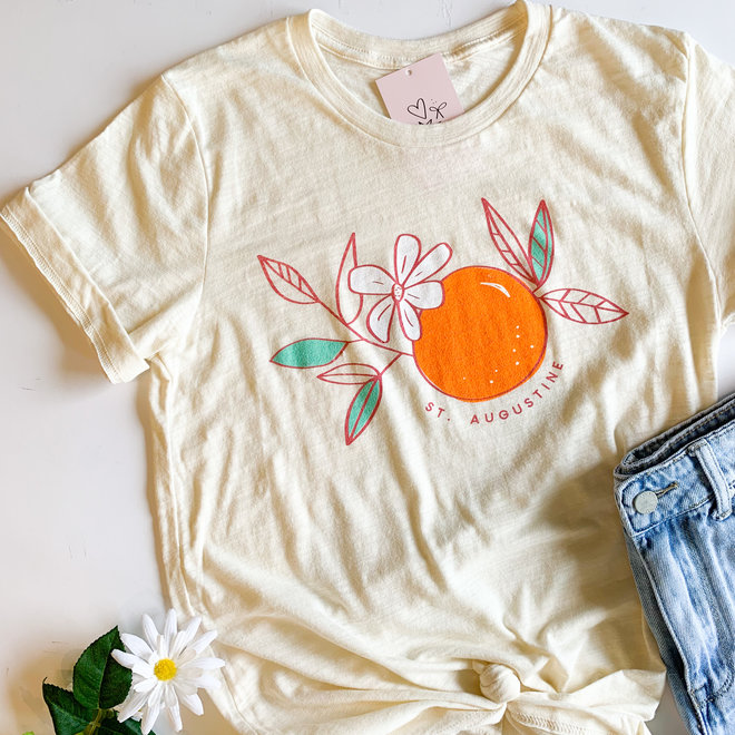 Orange Blossom Tee