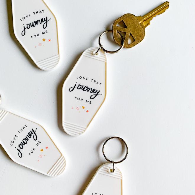Love that Journey Keychain