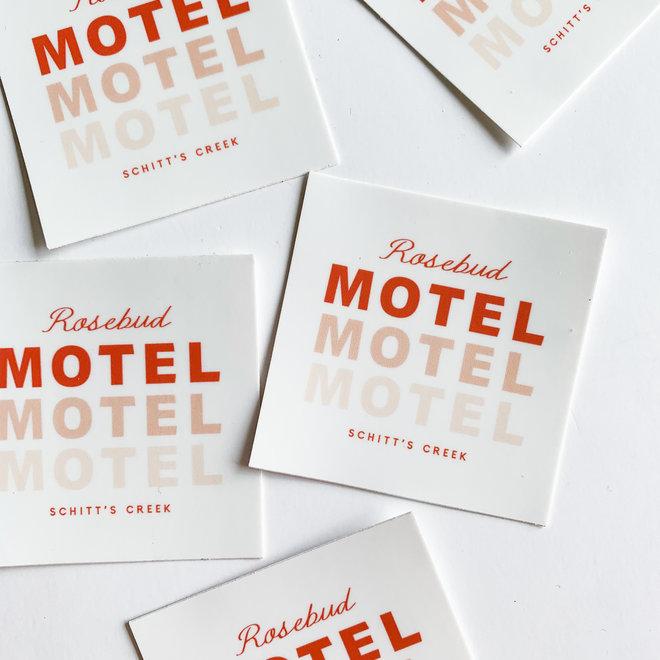 Rosebud Motel Logo Sticker