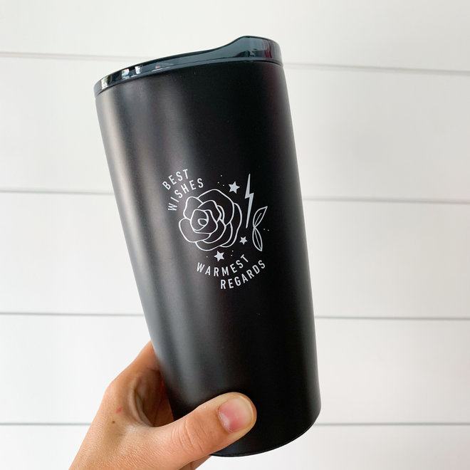 Best Wishes Stainless Steel Tumbler