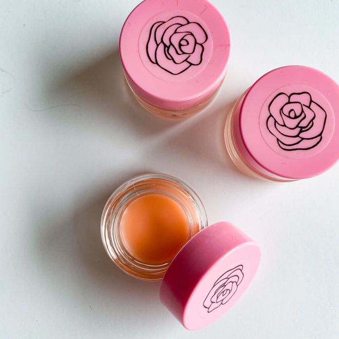 RA Pink Jar Lip Balm