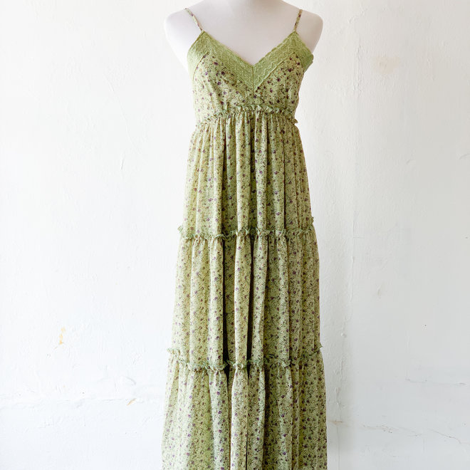 Free Spirit Dress Moss