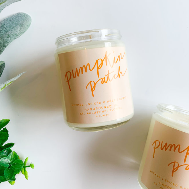 Pumpkin Patch 8 oz Candle