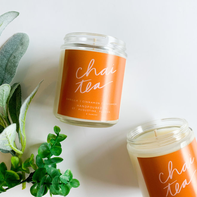Chai Tea 8 oz Candle